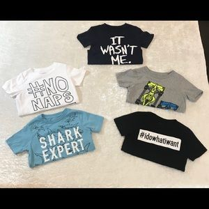 EUC The Children's Place Toddler Boy Graphic Tees